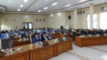 Paripurna Istimewa DPRD Kota Payakumbuh Sepi Anggota Dewan
