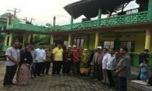 MTsM Pangkalan Ludes Terbakar, Ketua PWM Sumbar Kunjungi Lokasi Kebakaran