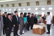 Bupati Limapuluh Kota Lantik Sekda dan Pejabat Pengawas