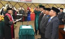 Pimpinan Definitif Dewan Dilantik, Syafrial Kani Pimpin DPRD Padang 5 Tahun ke Depan