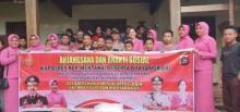 HKGB ke - 67 tahun 2019, Polres Bersama Bhayangkari Mentawai Lakukan Anjangsana dan Bhakti Sosial