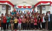 Peringati HKN, Puluhan Kader Puskesmas di Mentawai Ikuti Lomba Cerdas Cermat