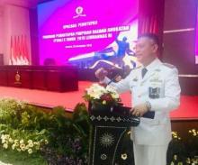 Wabup Pasaman, Atos Pratama Raih Predikat Sangat Memuaskan di P3DA X Lemhanas RI 2019