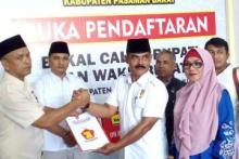 Jelang Pilbup Pasbar, Rusdan Nasution Daftar ke DPD Gerindra Pasbar