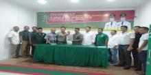 Bakal Calon Bupati Milenial Kabupaten Bengkalis MC Kendro Kembalikan Berkas ke PKB