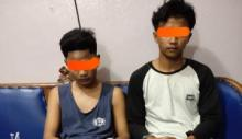 Diduga Edarkan Narkoba, Polsek Mandau Ringkus Dua Pemuda Talang Mandi