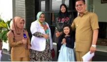 Osseana Sera, Gadis Cilik Asal Pasaman Juarai Fashion Show Cilik Indonesia Tahun 2019