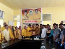 Siap Maju di Pilkada 2020, Balon Wakil Bupati Pasaman Rahmat Saleh Nasution Mendaftar ke Golkar
