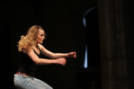 Performing Hélène Cathala's work at Dance Limerick