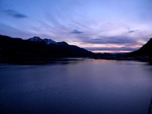 Departing Juneau