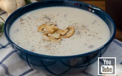 Mantar Çorbası Tarifi (Videolu)