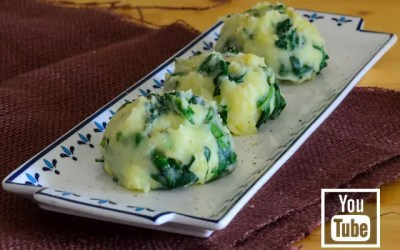 Ispanaklı Patates Püresi (Videolu)