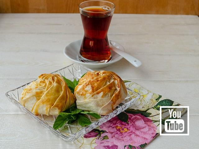 Peynirli Gonca Gül Böreği Tarifi