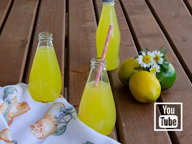 1 portakal 1 limon ile limonata