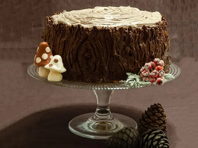 Kütük Pasta Tarifi (Meyveli)