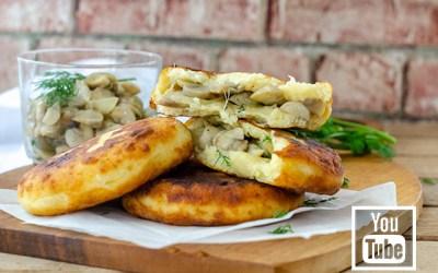Mantarlı Peynirli Patates Köftesi