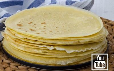 Sütsüz Krep Tarifi