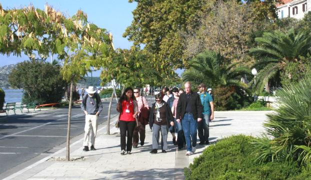 turisti jesen