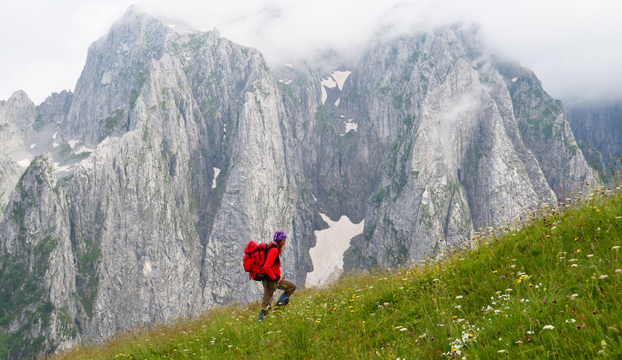 Na stazi od vrha Volušnice prema Albaniji