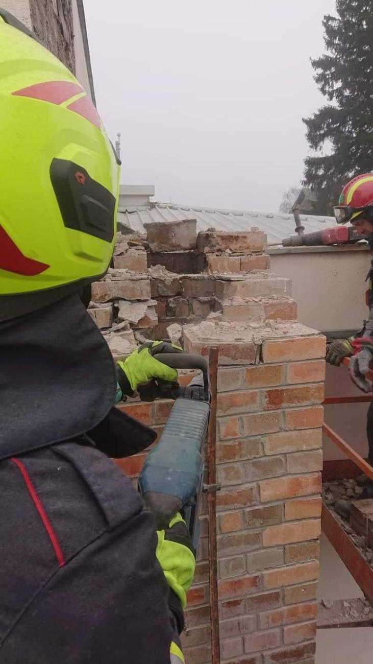 Uklanjanje dimnjaka VZZ Sibensko kninske