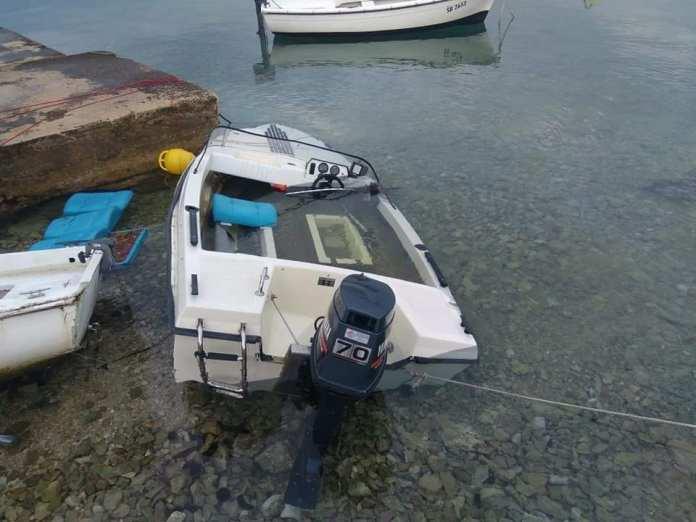 potopljene brodice