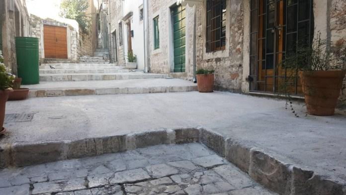 Središnji dio ulice