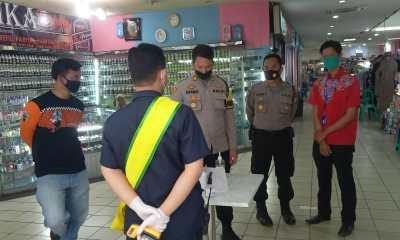 Demi Mendisiplinkan Masyarakat Untuk Patuhi Protokol Kesehatan, Jajaran Polres Lebak Cek Mall Rabinza