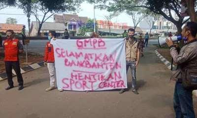 GMPB: Selamatkan Bank Banten, Hentikan Sport Center