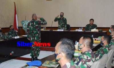 Korem 064/MY Dan Jajarannya Di Periksa Inspektorat Kodam lll/SLW