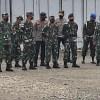 Danrem 174 Merauke Pimpin Gelar Apel Gabungan Pengamanan Kunjungan Kerja Panglima TNI dan Kapolri di Timika
