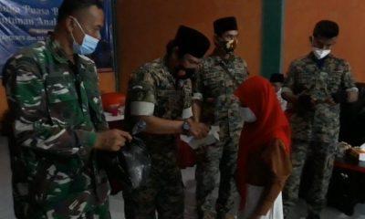 Menjelang Lebaran, PPPKRI Sat- BN Mada II Cilegon Santuni Puluhan Anak Yatim