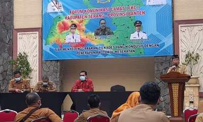 FKC Kabupaten Serang Gelar Konsolidasi Pilkades Yang Kondusif Dengan Penerapan Prokes
