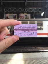 Ticket to Galle