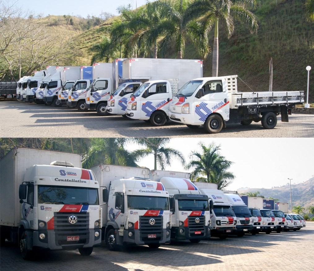 frota de caminhão