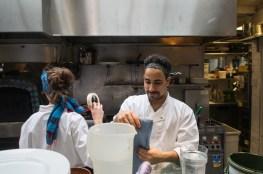 Chefs at Moro. Photo by Simon Wilder