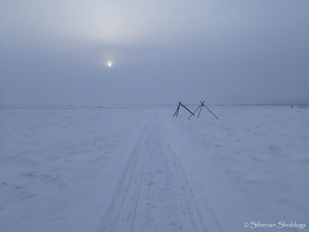 The trail to Unalakleet.