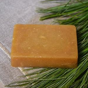 Кедровое живичное мыло ручной работы