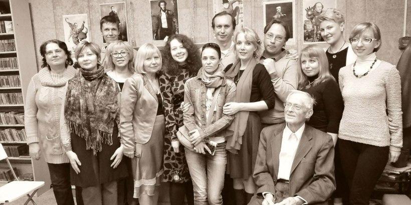 """Поэтический вечер в книжном магазине """"Марк Аврелий"""" 17 мая 2016"""