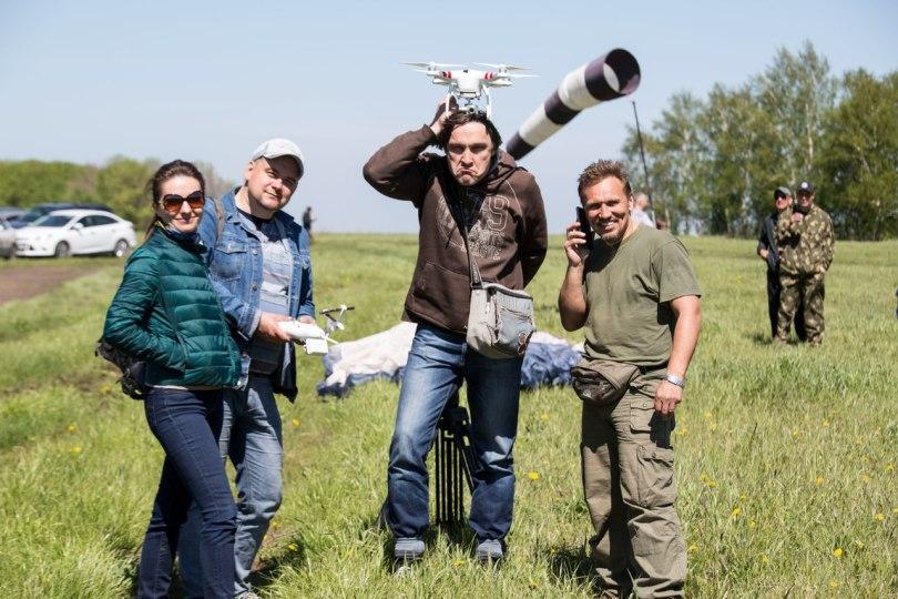 Открытие сезона полетов Александра Орлова. Фото Густаво Зырянова