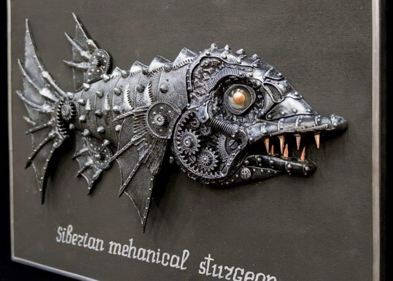 Механические рыбы Игоря Шевченко в галерее Джазиум