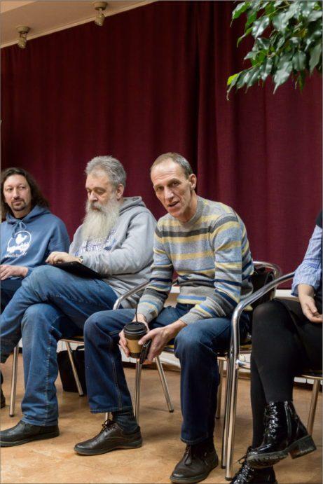 Участники презентации курса Фото © Александр Симушкин