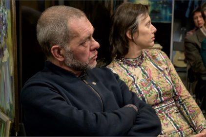 Встреча с Михаилом Паршиковым в галерее Джазиум. Фото Александра Симушкина