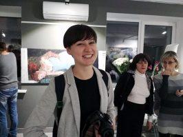 Анна Галеева. Выставка Евгении Шадриной-Шестаковой. Фото Елены Берсенёвой
