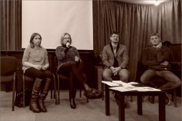 Анна Павловец, Анна Булычева, Александр Федчук, Олег Шелудяков. Фото Александра Симушкина