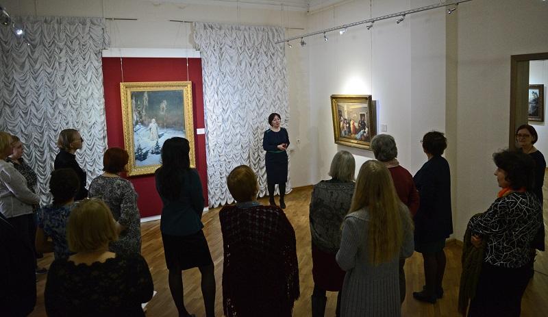 Третьяковская галерея привезла шедевры в Новосибирский художественный музей