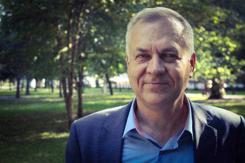Министр культуры НСО Игорь Решетников в проекте Антона Веселова «Люди как книги»