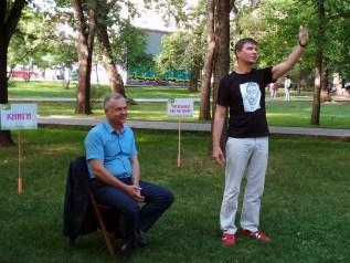 Встреча с министром культуры НСО Игорем Решетниковым Фото Елены Берсенёвой