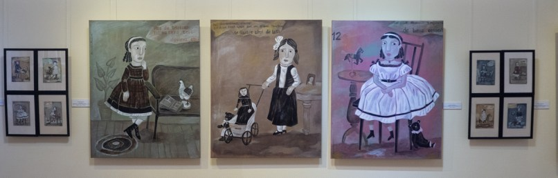 """Выставка """"Четыре истории"""" в НГХМ. Фото Алексея Школдина"""