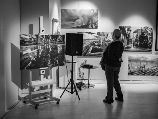 Фотовыставка Бориса Биленкина. Фото Алексея Школдина