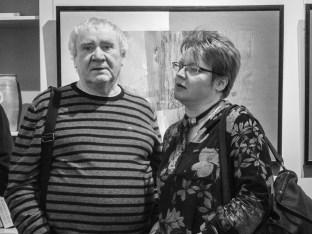 Вернисаж Яны Богдановой в СХР. Фото Алексея Школдина
